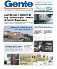 Portada de Gente en Logroño (España)