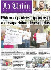 Portada de La Unión de Morelos (México)