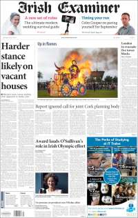 Portada de Irish Examiner (Ireland)