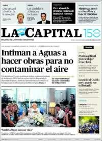 Portada de La Capital - Rosario (Argentine)