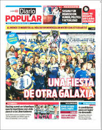 Portada de Diario Popular (Argentine)
