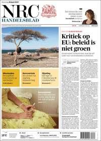 Portada de NRC Handelsblad (Pays-Bas)