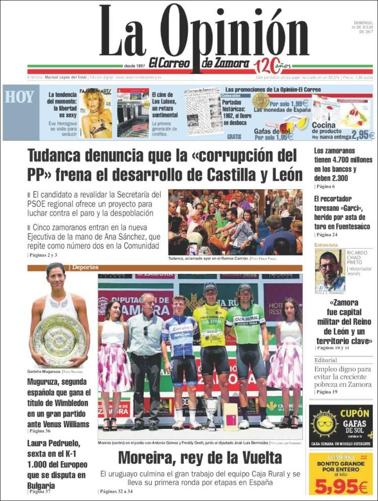 93c210b080 Periódico La Opinión - El Correo de Zamora (España). Periódicos de ...