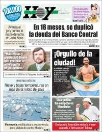 Portada de Diario Hoy (Argentine)