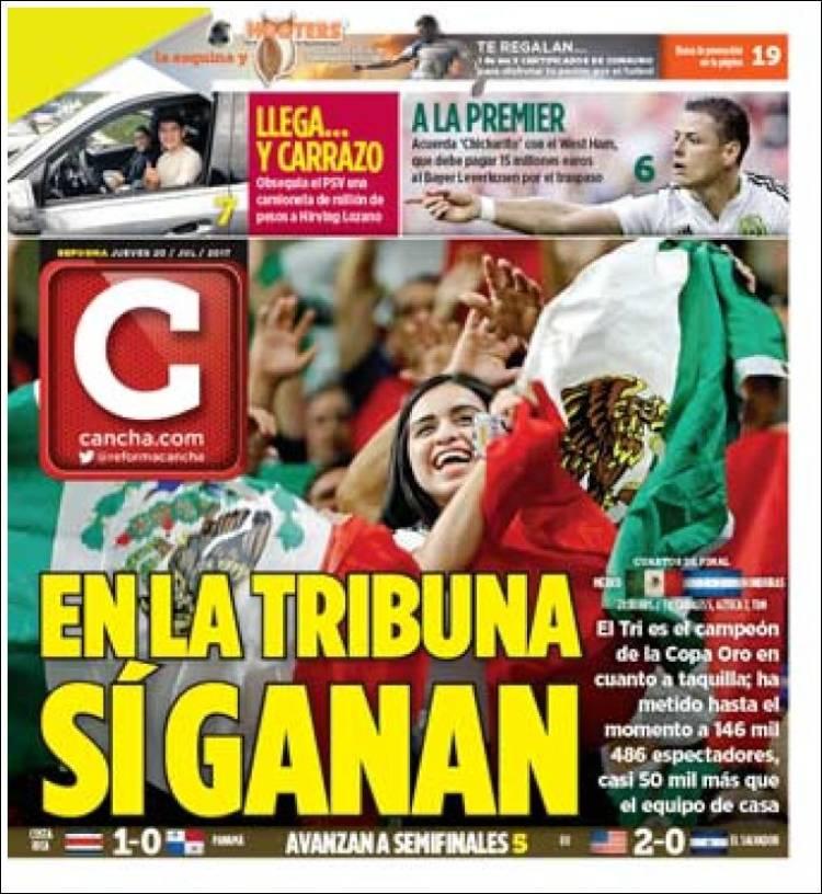 Portada de Cancha (Mexique)