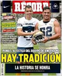 Portada de Record (Mexique)