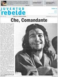 Portada de Juventud Rebelde (Cuba)