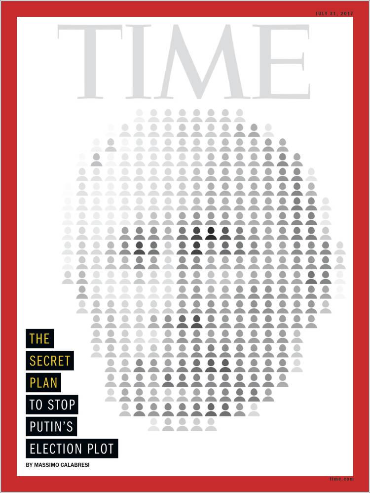 Portada de Time Magazine (États-Unis)