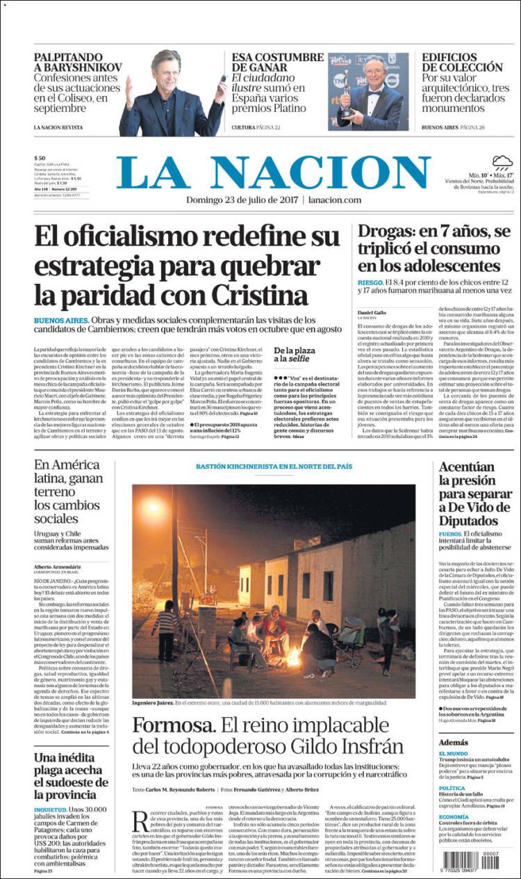 Portada de diarios nacionales e internacionales - NotiTotal - photo#4