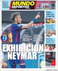 Portada de El Mundo Deportivo (Espagne)