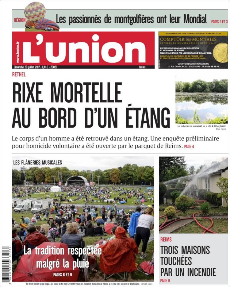Portada de L'Union (France)