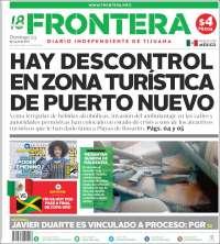 Portada de Frontera (Mexique)