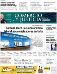 Portada de Comercio y Justicia (Argentine)