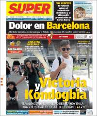 Portada de Superdeporte (España)