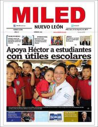 Portada de Miled - Nuevo León (México)