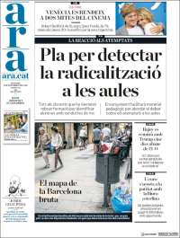 Portada de Ara (España)