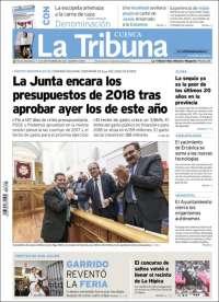 Portada de La Tribuna de Cuenca (España)