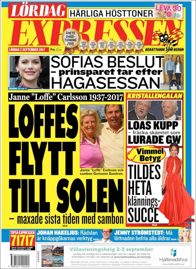 Expressen söndagsbilaga 2017