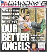 Portada de New York Post (USA)