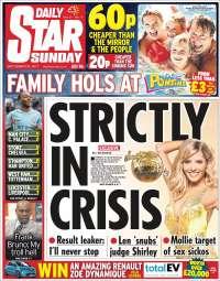 Portada de Daily Star (Royaume-Uni)