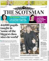 Portada de The Scotsman (United Kingdom)