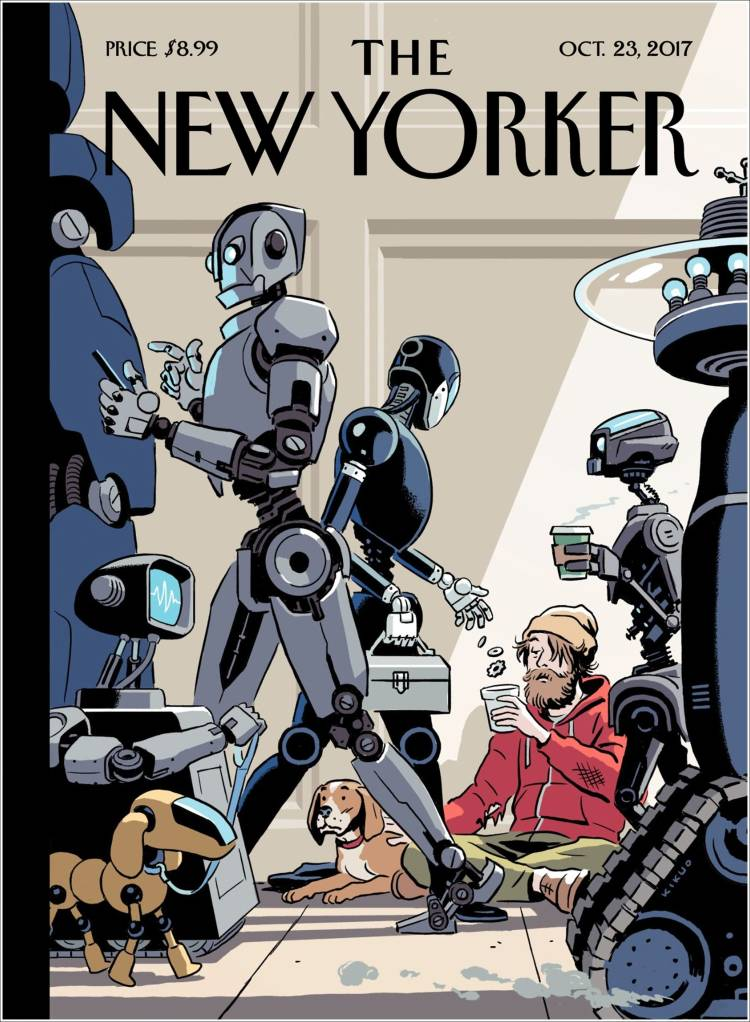 Portada de The New Yorker (USA)