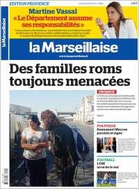 Portada de La Marseillaise (France)