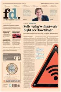 Portada de Het Financieele Dagblad (Pays-Bas)