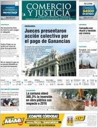 Portada de Comercio y Justicia (Argentina)