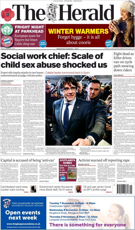Newspaper The Herald (United Kingdom)  Newspapers in United