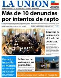 Portada de La Unión (Argentina)