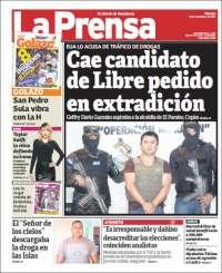 Portada de La Prensa (Honduras)