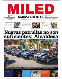 Portada de Miled - Aguascalientes (México)