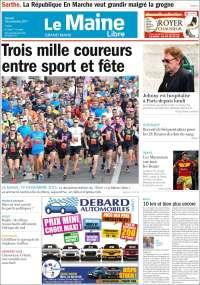 Portada de Le Maine Libre (France)