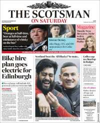 Portada de The Scotsman (Royaume-Uni)