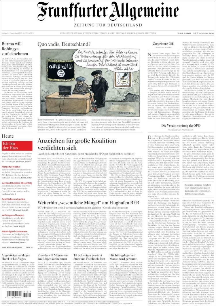 frankfurter allgemeine english version