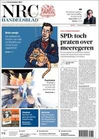 Portada de NRC Handelsblad (Netherlands)
