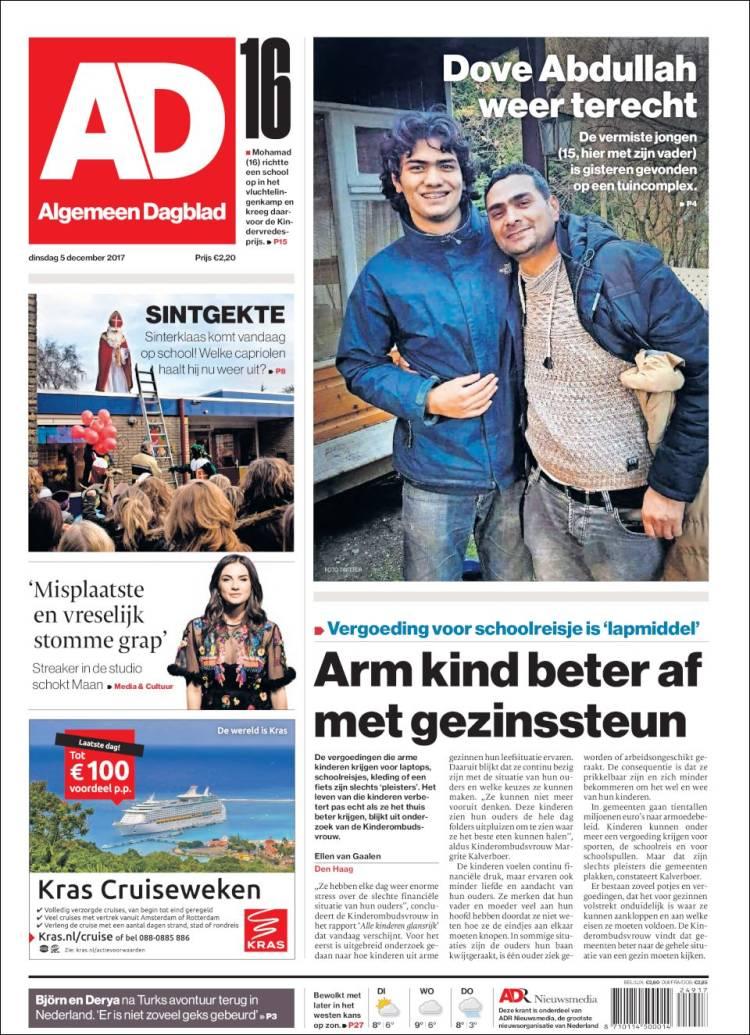 algemeen dagblad nederland