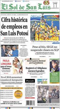 El Sol de San Luis