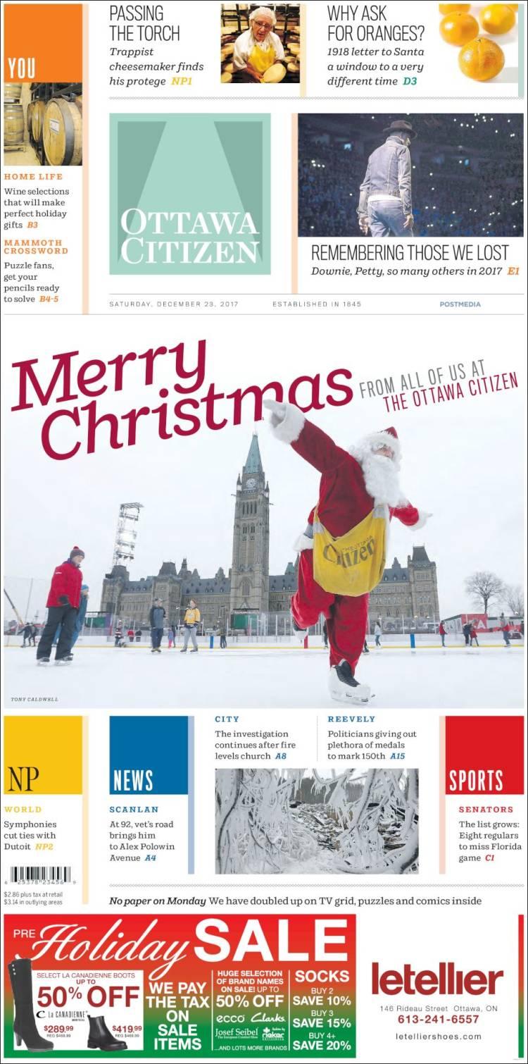 Newspaper ottawa citizen canada newspapers in canada saturdays portada de ottawa citizen canada spiritdancerdesigns Gallery