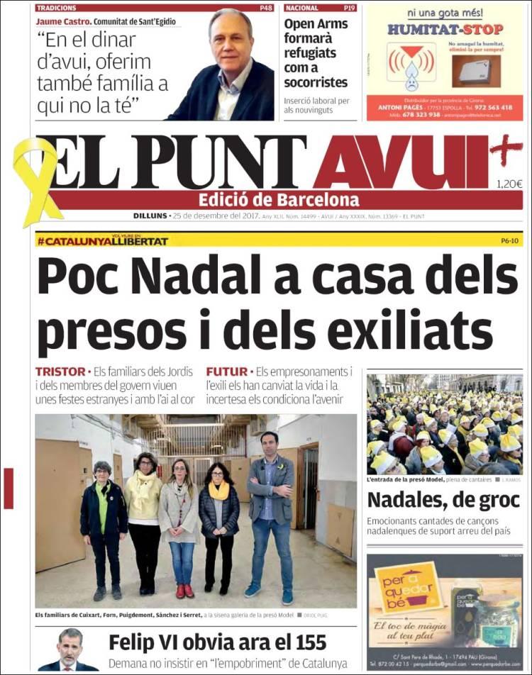 EL PUNT AVUI PORTADA DOWNLOAD
